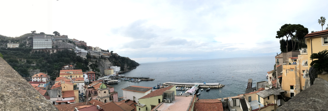Sorrento in the fall