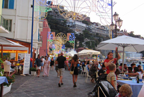 The Saint Anna Festival of Marina Grande: A Quintessential Cultural Tradition