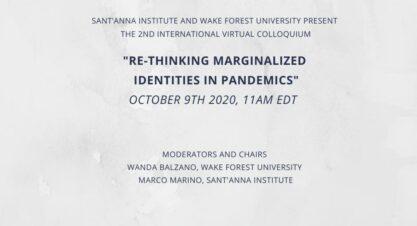 Sant'Anna Institute and Wake Forest University Virtual Colloquium 2